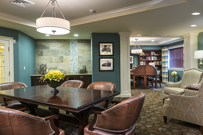 Brightview Arlington Library - Massachusetts Senior Living