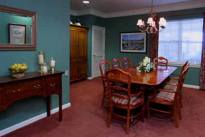Brightview Bel Air Private Dining Room - Maryland Senior Living