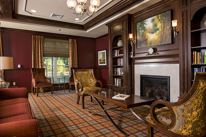 Brightview Canton Living Room - Massachusetts Senior Living