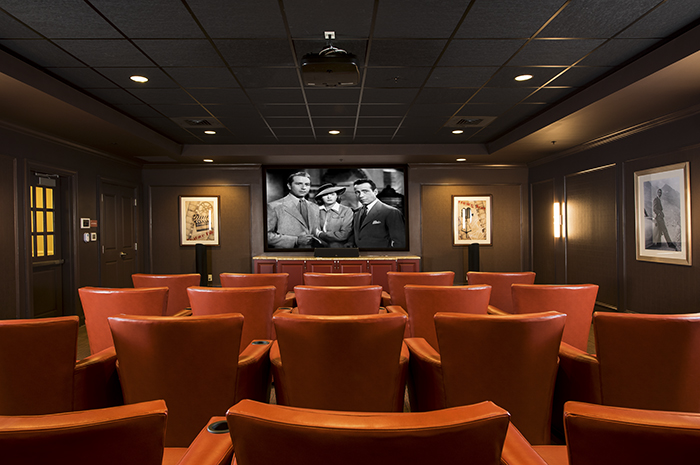 Brightview Canton Movie Theater - Massachusetts Senior Living