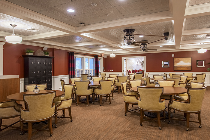 Brightview Canton Activity Room - Massachusetts Senior Living
