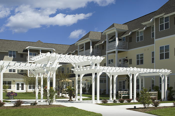 Brightview Commons Exterior - Rhode Island Senior Living