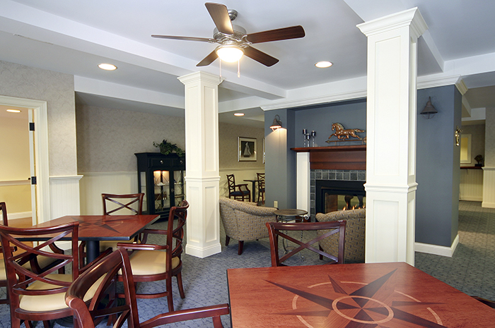 Brightview Commons Activity Room - Rhode Island Senior Living