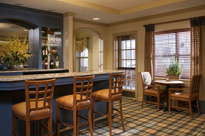 Brightview Concord River Pub - Massachusetts Senior Living