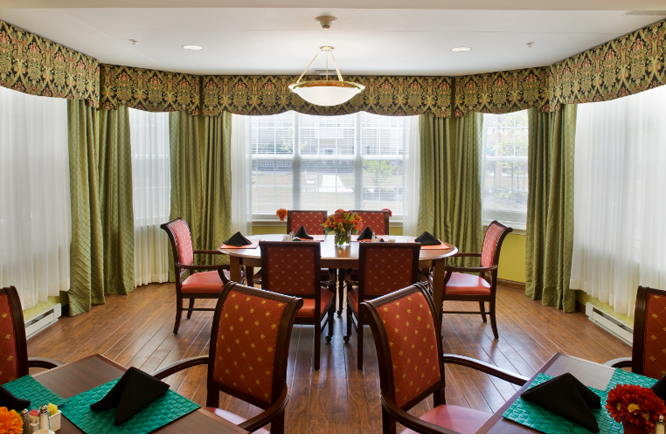 Brightview East Norriton Dining Room - Pennsylvania Senior Living