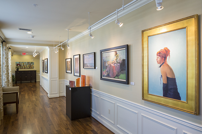 Brightview Fallsgrove Art Gallery - Maryland Senior Living