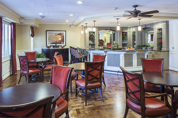 Brightview Fallsgrove Pub - Maryland Senior Living