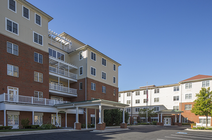 Brightview Mays Chapel Ridge Exterior - Maryland Senior Living