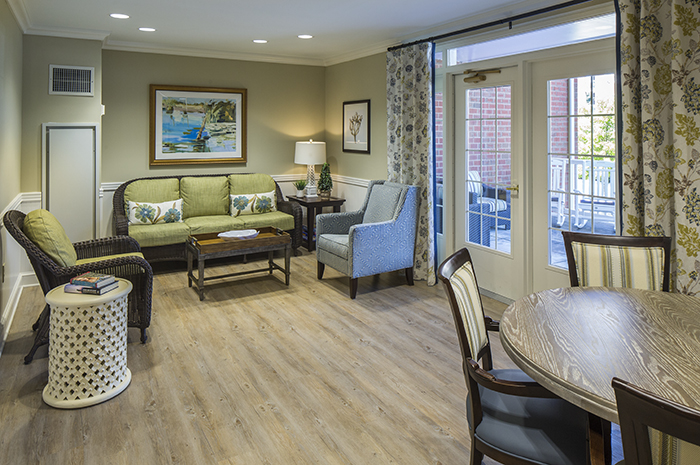 Brightview Mays Chapel Ridge Activity Room - Maryland Senior Living