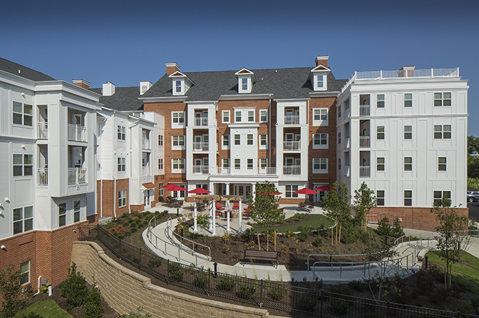 Brightview Perry Hall Exterior - Maryland Senior Living