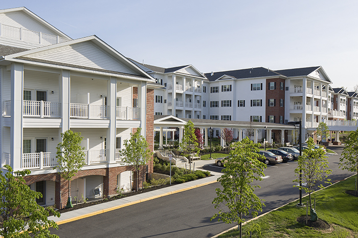 Brightview Randolph Exterior - New Jersey Senior Living