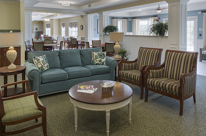 Brightview Randolph Living Room - New Jersey Senior Living