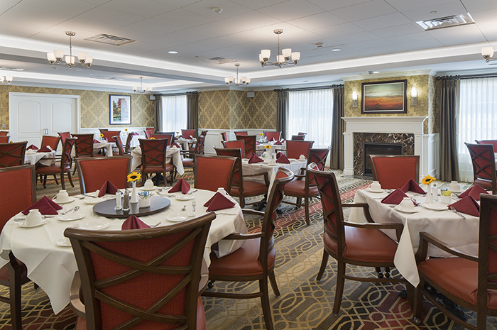 Brightview Randolph Dining Room - New Jersey Senior Living