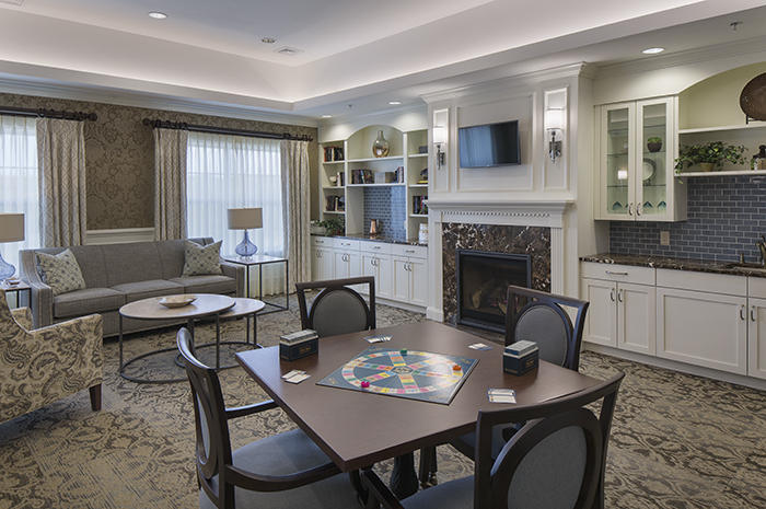 Brightview Randolph Activity Room - New Jersey Senior Living