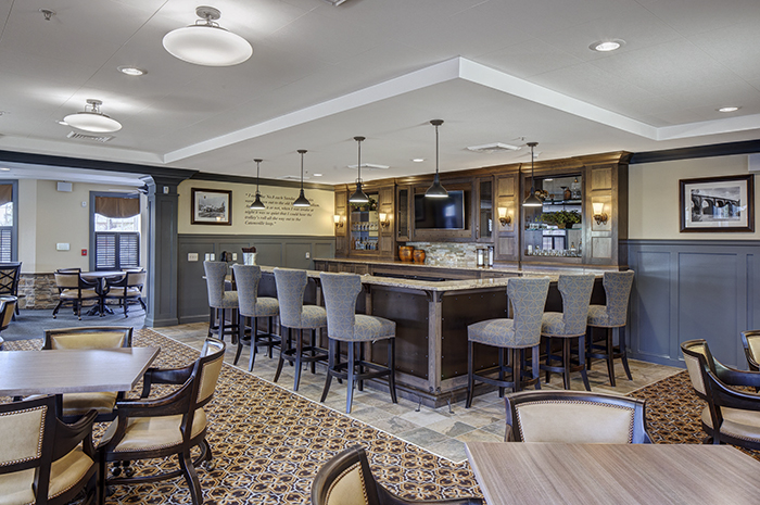 Brightview Rolling Hills Pub - Maryland Senior Living