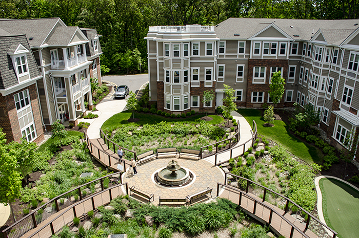 Brightview Severna Park Exterior - Maryland Senior Living