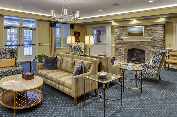 Brightview Severna Park Living Room - Maryland Senior Living