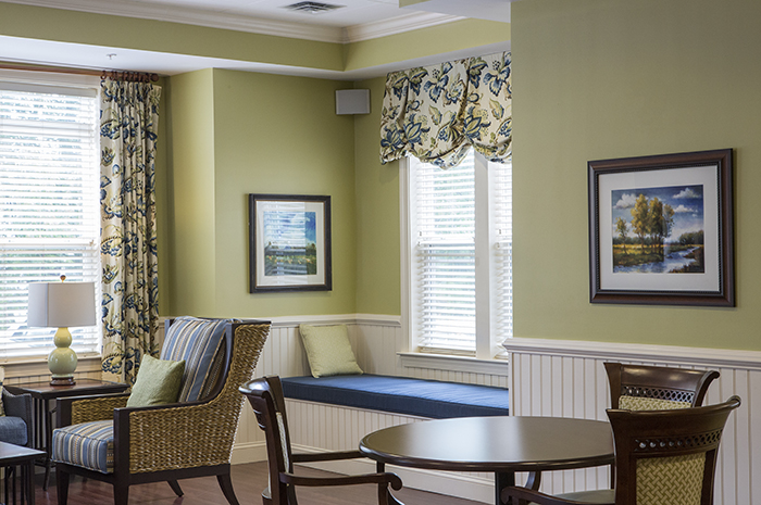 Brightview Severna Park Activity Room - Maryland Senior Living