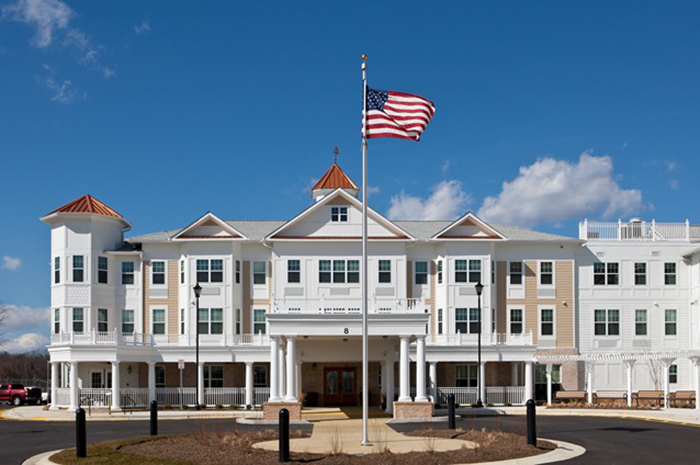 Brightview South River Exterior - Maryland Senior Living