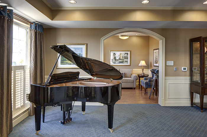 Brightview South River Grand Piano - Maryland Senior Living