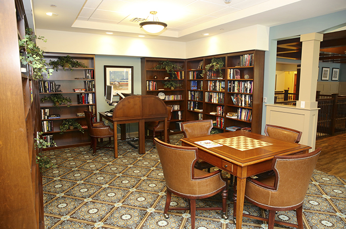 Brightview Tarrytown Library - New York Senior Living
