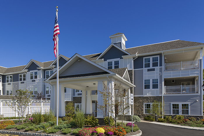 Brightview Tenafly Exterior - New Jersey Senior Living