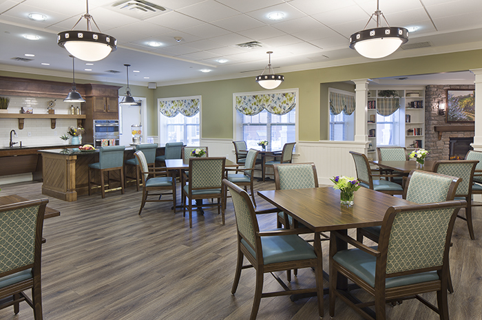 Brightview Warren Country Kitchen - New Jersey Senior Living