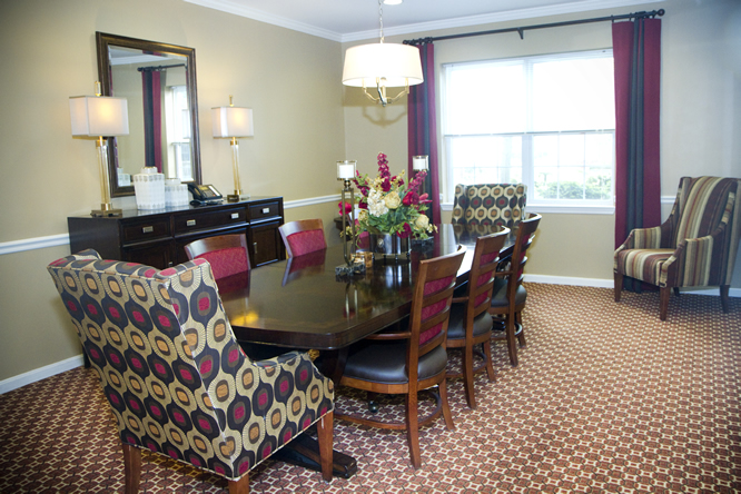 Brightview White Marsh Private Dining Room - Maryland Senior Living