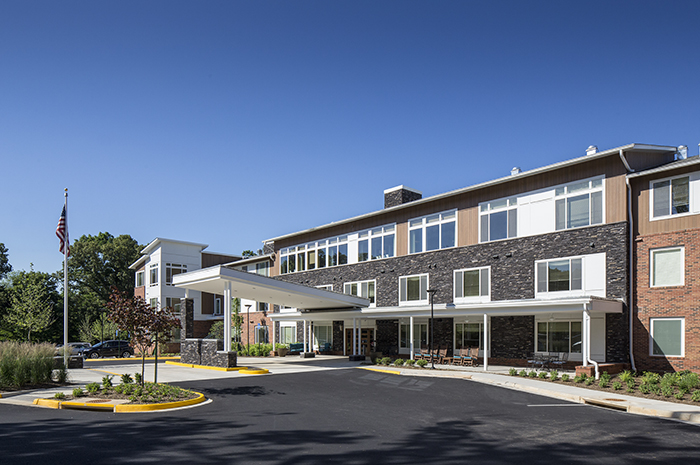 Brightview Woodburn Exterior - Virginia Senior Living