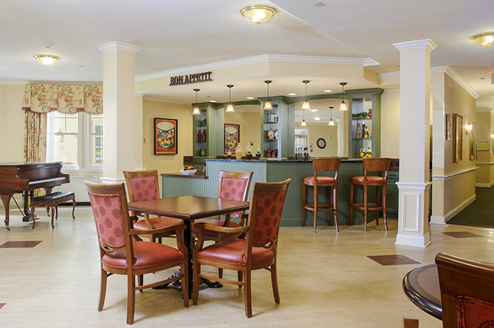 Brightview Woodbury Lake Pub - New Jersey Senior Living