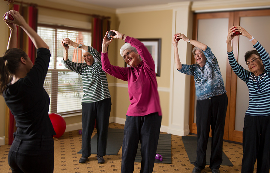 Active Senior Living Benefits