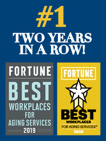 Brightview Senior Living FORTUNE Best Workplaces