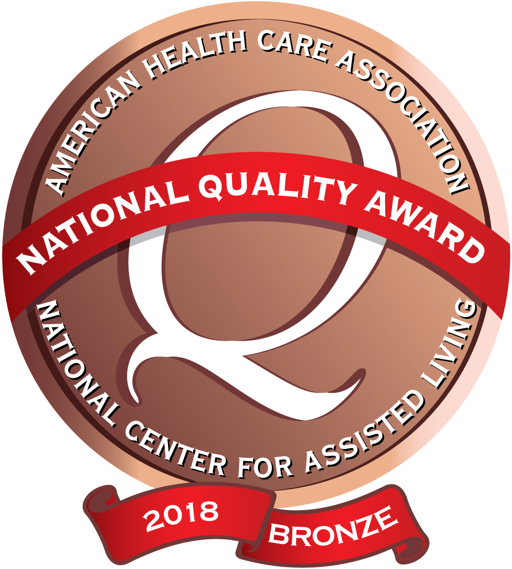 Brightview Woodbury Lake Earns 2018 Bronze National Quality Award