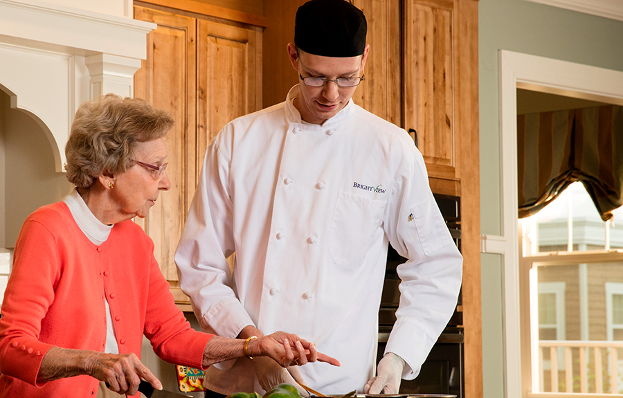 Senior Nutrition at Brightview Senior Living