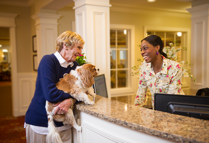 Brigthview Senior Living Business Office Manager and Resident