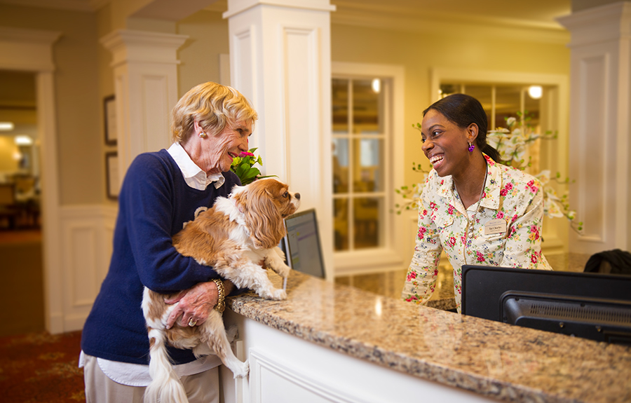 Checklist for moving into senior and assisted living community